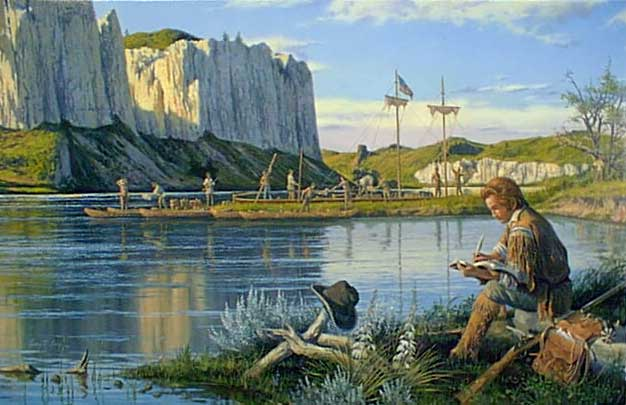 Lewis And Clark Painting Lewis And Clark